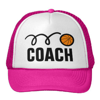 Women's basketball coach hat / cap