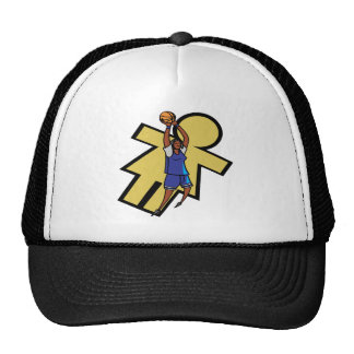 Womens Basketball Trucker Hat
