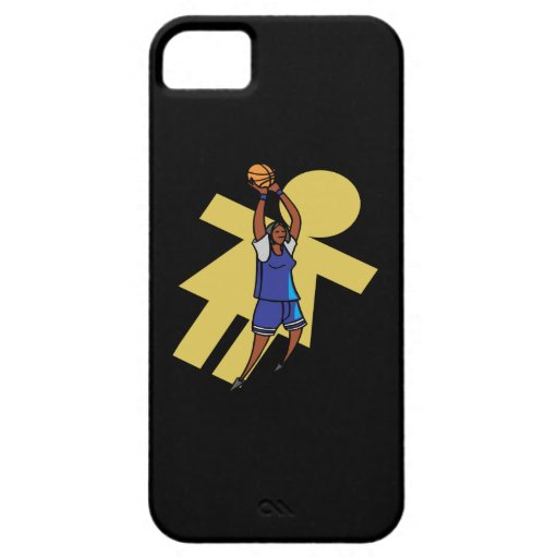 Womens Basketball iPhone 5 Cases