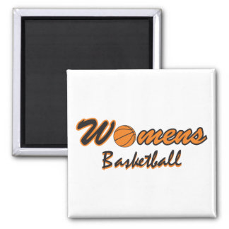 womens basketball logo graphic refrigerator magnet