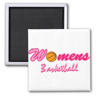 Women's Basketball Logo Magnets