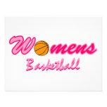 Women's Basketball Logo Personalized Invite