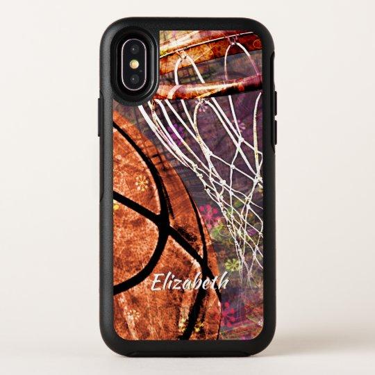 women s basketball OtterBox iPhone X case w name  e557b8ba4b