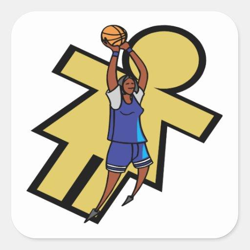 Womens Basketball Sticker