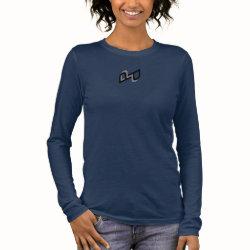 Women's Bella+Canvas Double-P Long Sleeve T-Shirt