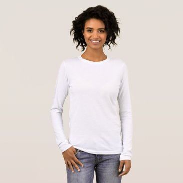 Beach Themed Women's Bella Canvas Long Sleeve T-Shirt