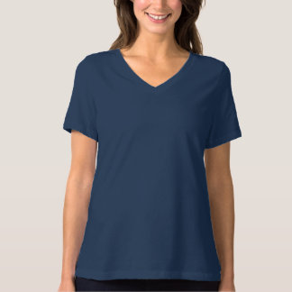 Women's Bella+Canvas Relaxed Fit V-Neck T-Shirt