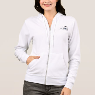 Women's Bella Fleece Raglan Zip Hoodie