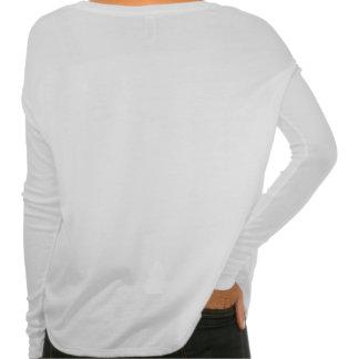 Women's Bella Flowy Long Sleeve Shirt, White T-Shirt