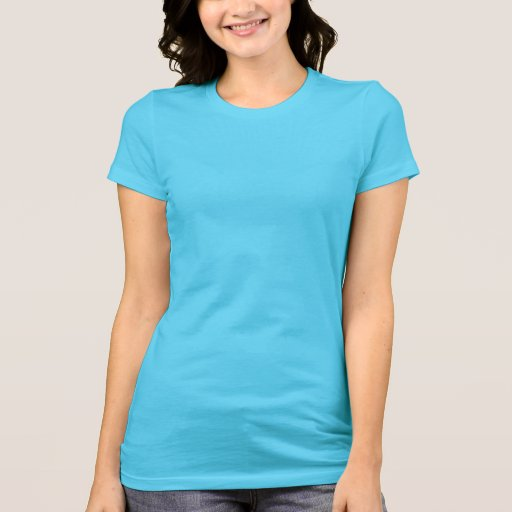 Women's Bella Jersey T-Shirt Turquoise