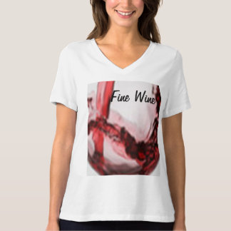 Women's Bella Plus Size Jersey V-Neck T-Shirt