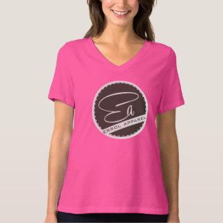 Women's Bella Plus Size Jersey V-Neck Tshirt