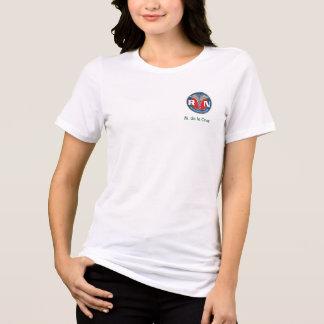 Women's Bella Relaxed Fit Jersey T-Shirt, White T-shirt