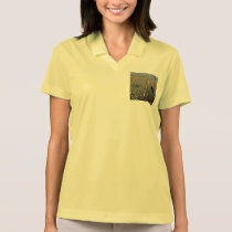 Women's bird polo shirt