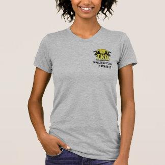 Womens Black Belt T-Shirt