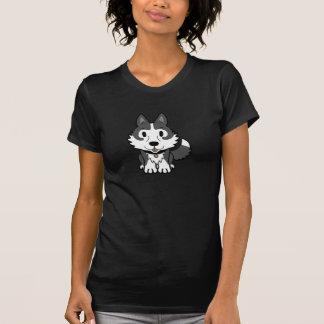 Womens Black Husky Tshirt
