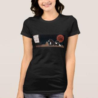 Women's Black MARS Harvest Moon T-shirt