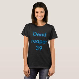 Women's Black T-shirt Dead reaper 39