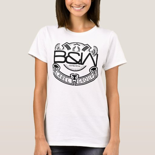 (Womens) Black & White Label Group  T-Shirt