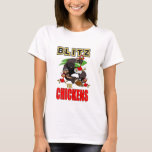 Womens Blitz The Chickens T-Shirt
