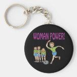 Womens Bowling Team Key Chains