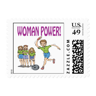 Womens Bowling Team Stamps