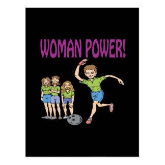 Womens Bowling Team Postcard