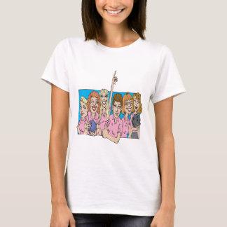 Womens Bowling Team T-Shirt