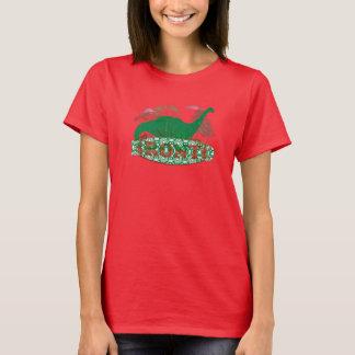 Women's Brontosaurus T-Shirt  by: RokCloneDesigns