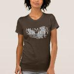 Women's Brown Amer Apparel Fine Jersey T-Shirt
