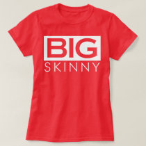 Womens BS Red Logo Tee