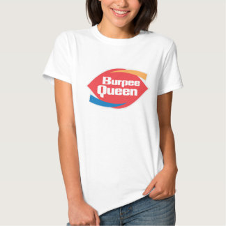"Women's Burpee Queen"" Fitness Shirt"