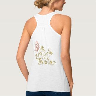 Women's butterfly tank top