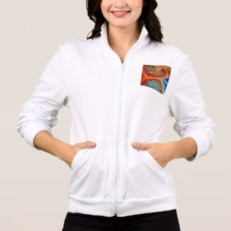 WOMEN'S CALIFORNIA ZIP JOGGER - SIZE M - WHITE JACKET