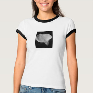 Women's Calla Ringer T-Shirt, White/Black T-Shirt