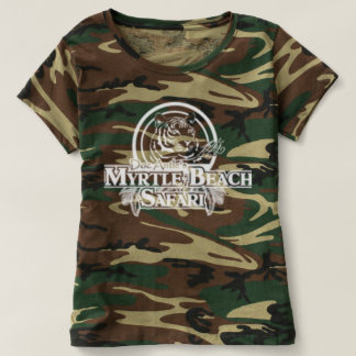 Women's camo T T-shirt