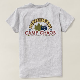 Womens Camp Chaos 2017 Basic Tee