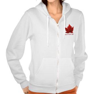 Women's Canada Flag Jacket Souvenir Sport Jacket