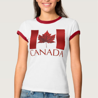 Women's Canada Flag T-shirt Souvenir T-Shirt / Tee