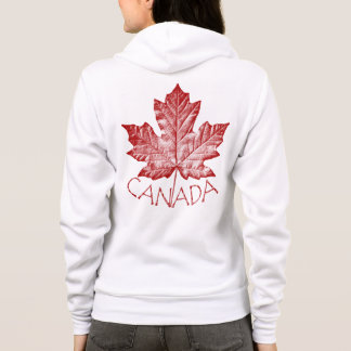 Women's Canada Hoodie Canada Maple Leaf Sweatshirt