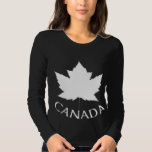 Women's Canada Shirt Maple Leaf Souvenir T-shirt