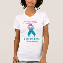 Women's Cancer. It's not always pink. T-Shirt