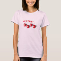 Women's Canvas Fitted Burnout T-Shirt BERRIES