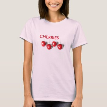 Women's Canvas Fitted Burnout T-shirt Berries by creativeconceptss at Zazzle