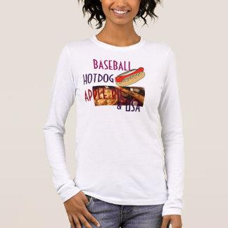 Women's Canvas Fitted Burnout T-Shirt HOTDOG