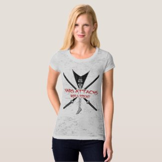 Women's Canvas Fitted Burnout T T-Shirt