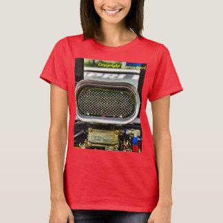 Women's car engine t-shirt
