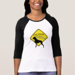 Women's Caution My Boxer is a Lap Dog Tee Shirts