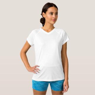 Women's Champion Double Dry V-Neck T-Shirt