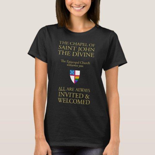 Womens Chapel Sign LGBTQ shirt